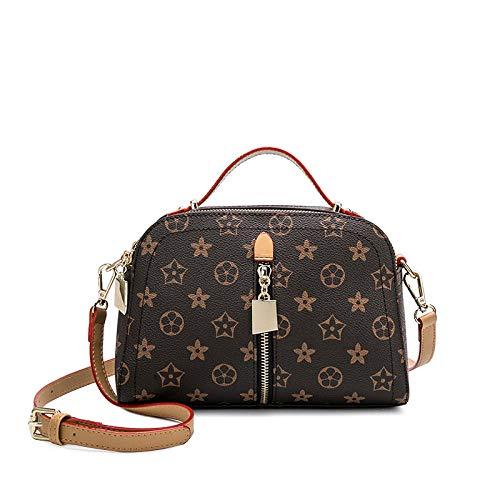 YZJLQML Damentasche DamenbekleidungVintage Einzelschulter Umhängetasche Wilde kleine quadratische Tasche Damenhandtasche -Brown