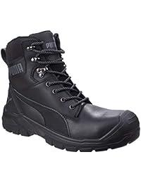 a011748bb0f3 Puma Conquest High Safety Boots Mens Fibreglass Toe Cap Industrial Work  Shoes