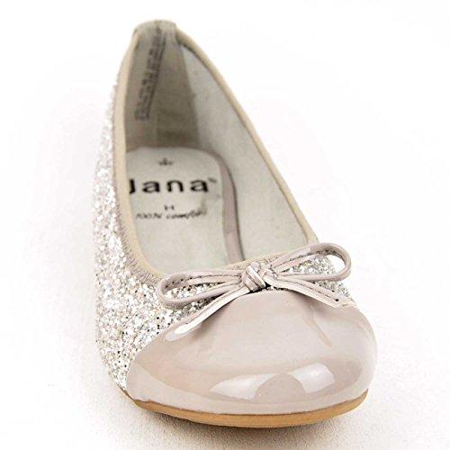 Jana  88 22108 28 298, Ballerines pour femme gris gris Gris