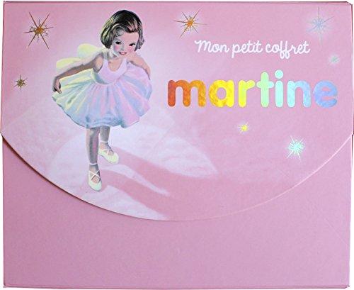 Mon petit coffret Martine : Avec 5 enveloppes, 1 carnte, 5 cartes et 2 planches de stickers