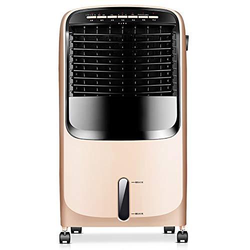 BL-Apchy Tragbare Luftkühler und Heizung, Luftbefeuchter, mit Fernbedienung, 3 Geschwindigkeiten, Gold