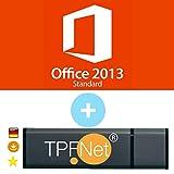 Microsoft Office 2013 Standard ISO USB. 32 bit & 64 bit - Original Lizenzschlüssel mit bootfähigen USB Stick von - TPFNet