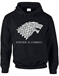 Hoodie Game of Thrones Winter is coming Kapuzenpullover Schattenwolf