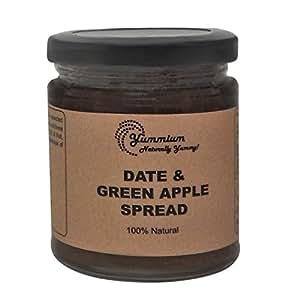 Yummium Natural Date & Green Apple Spread -225 GMS