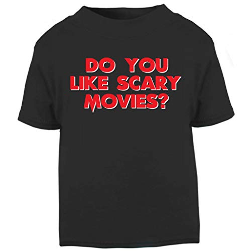 Scream Do You Like Scary Movies Baby and Toddler Short Sleeve T-Shirt