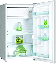 Nikai Single Door Refrigerator - Silver, NRF125SS/1, 1 Year Brand Warranty