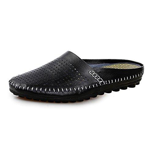 Herren Sommer Pantoffeln Hohlen Atmungsaktive Strandsandalen Männer Casual Schuhe Slip-on Flats Flip Flops