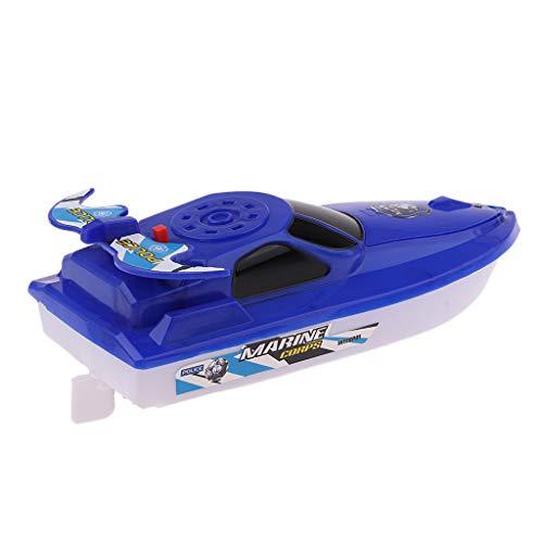 SM SunniMix Boot Schwimmen Badespielzeug Badewanne Spielzeug für Baby Kinder - Blau