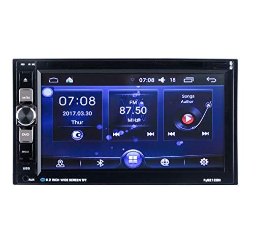Y&Jack Auto-Navigation Android 6,2 Zoll Auto-DVD-Navigations-Player Universal-Dual-Yuan-Großbild-Auto-DVD-Wireless-Fernbedienung hinten Kamera