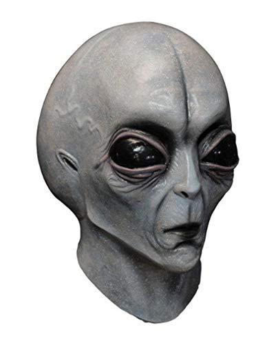 Horror-Shop Area 51 Alien Latex Maske