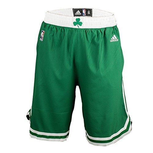 Adidas Intnl Swingman Shor Shorts da Basket - Multicolore (Green/White) - S
