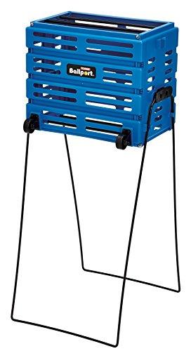 Tourna Ballport Deluxe Tennis Warenkorb, Unisex, Blue, blau -