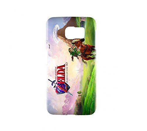 the-legend-of-zelda-ocarina-of-time-game-snap-on-plastic-case-cover-compatible-with-samsung-galaxy-s