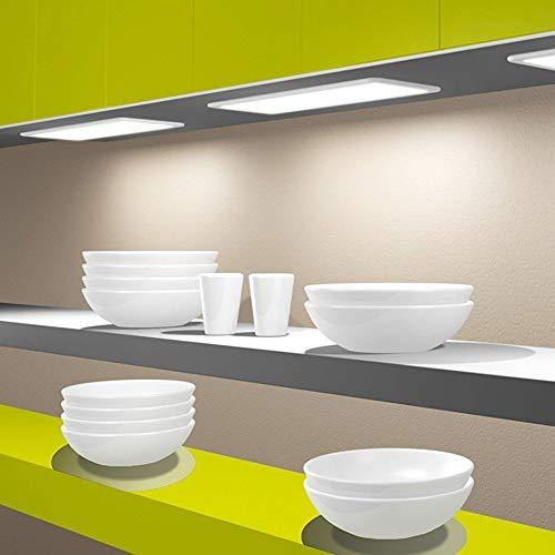 LED Unterbauleuchte Küchenleuchte Panel Küche Unterbaustrahler dimmbar, Auswahl:600mm neutralweiß