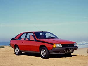 RENAULT Fuego Poster A3420x 297mm re26a3