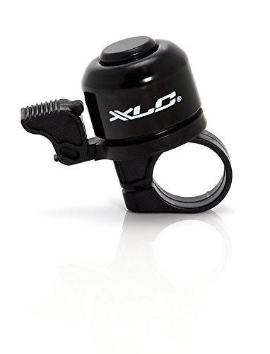 fahrradklingel extra laut XLC Miniglocke DD-M01, schwarz, 2500700200