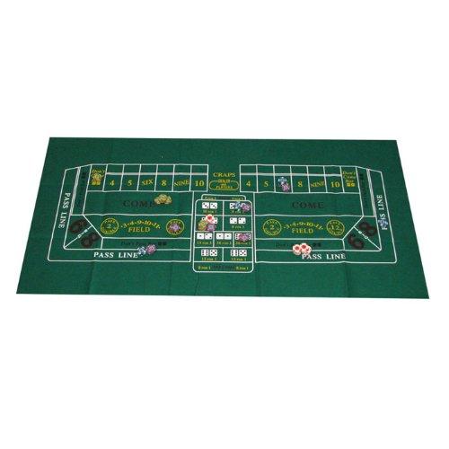 Trademark Poker Craps Layout 91,4 x 183 cm