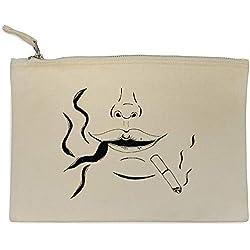 Azeeda 'Fumeur' Pochette en Toile / étui à Accessoires (CL00000312)