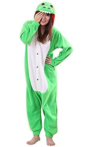 Dinosaur Adulte Costumes Dhalloween - YARBAR Onesies animaux Cosplay pyjamas unisexes adulte