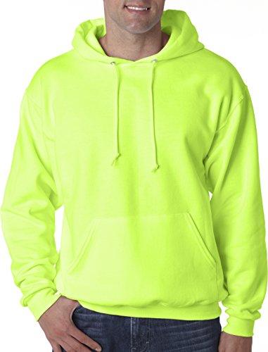 Jerzees -  Felpa  - Uomo Safety Green