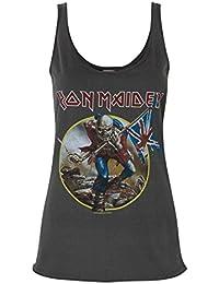 Amplified Iron Maiden Trooper Women's Vest