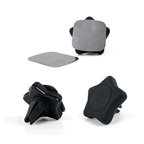 DURAGADGET Soporte Magnético Para Smartphone THL T6C | Doogee Valencia2 Y100 Plus | Elephone M2 | P7000 Pioneer Para...