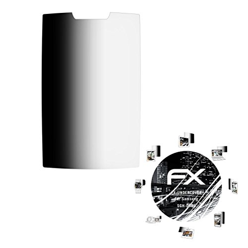 Samsung SGH-D880 Blickschutzfolie - atFoliX FX-Undercover 4-Wege Sichtschutz Blickschutzfilter Displayschutzfolie