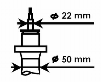 KYB 334834 Stoßdämpfer Stoßdämpfersatz, Stossdämpfer, Stoßdämpfer Vorne