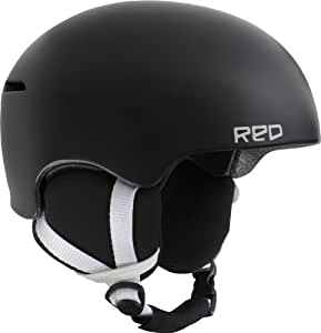 Red Avid Grom Kids Helmets - Black, Small