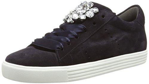Kennel und Schmenger Damen Town Sneaker, Blau(Pacific/Crystal Sohle Weiß) 748, 38.5 EU