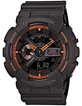 Casio G-Shock – Herren-Armbanduhr mit Analog/Digital-Display und Resin-Armband – GA-110TS-1A4ER