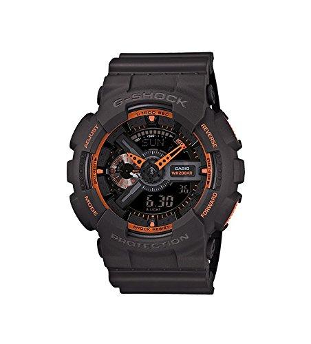 Casio Herren-Armbanduhr Analog - Digital Quarz Resin GA-110TS-1A4ER
