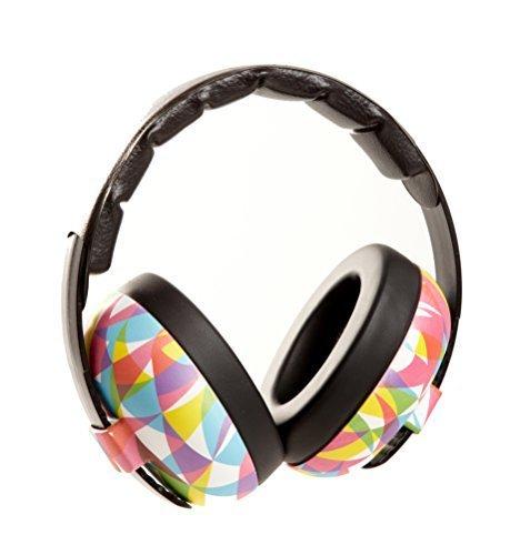 Preisvergleich Produktbild BabyBanz GBB034 Baby-Gehörschutz, 0-2 Jahre, mit extra weichem Kopfbügel, GEO