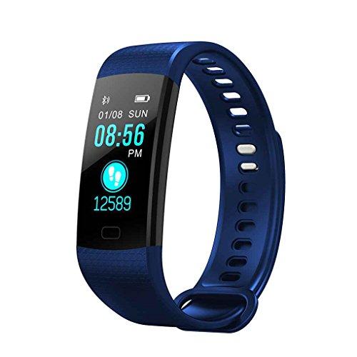 """Uzinb Y5 Smart-Armband 0.96\"""" TFT Display Herzfrequenzüberwachung Armband-Blutdruck-Blut-Sauerstoff-Test Wasserdicht Fitness Band"""