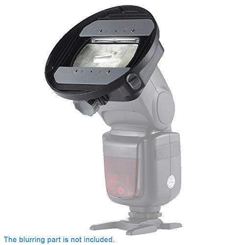 Andoer CA-SGU Universal-Blitz Speedlite -Mount-Adapter Halter Zubehör für Nikon Canon Yongnuo Godox Sigma Andoer Neewer Vivitar Blitz Scheunentor Mini-Reflektor