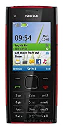 Nokia X2-00 (Black-Red)