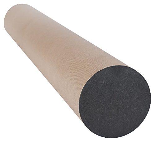 Pavo 960829 - Tubos de carton para envios, A1/A0, 80mm