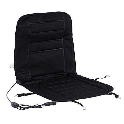Auto Beheizte Sitzkissen, XGZ schwarz 12V Sitz Hot Heizung beheizt Pad Hot Pad Mit Wärmer für konstante Temperatur Schutz Funktion