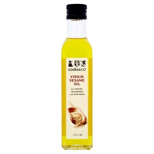 Cooks & Co légèrement 250ml Toasted Virgin Huile de sésame