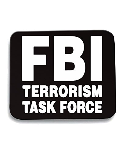 Cotton Island - Tappetino Mouse Pad TM0543 fbi terrorist task force, Taglia taglia unica