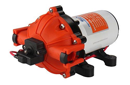Seaflo 12Volt HIGH Druck Wasser Pumpe 18,9L/min 5.0GPM 60PSI mit automatischer Schalter für Marine RV Boot Automotive
