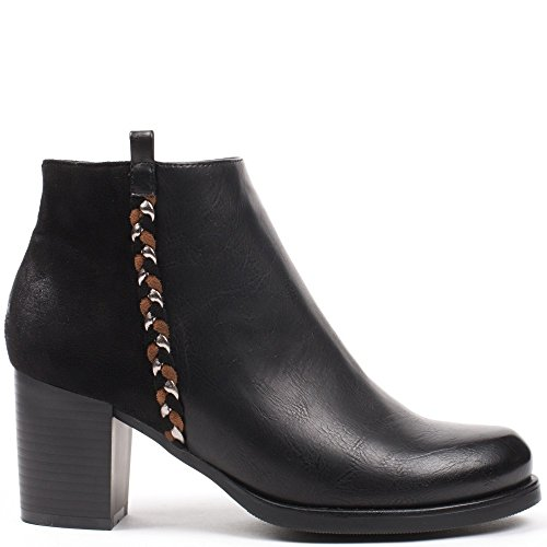 Ideal Shoes ,  Stivali donna Nero