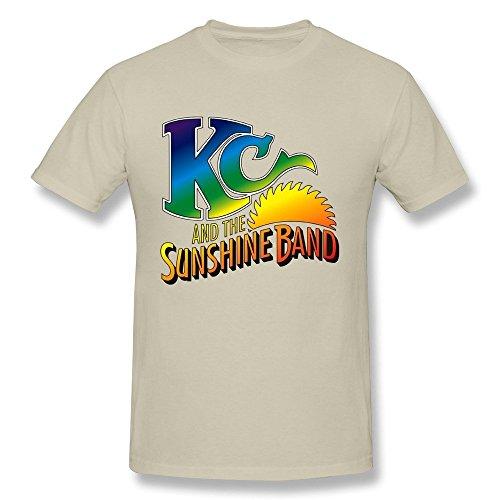 Uomo's Kc And The Sunshine Band T Shirt Nero