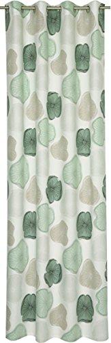 Schöner Wohnen Ösenschal, 70 Baumwolle, 30 Prozent Polyester, Grau, 250 x 140 cm