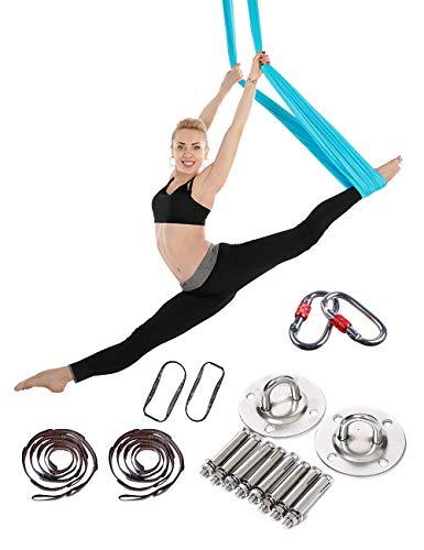 Besbomig yoga swing imposta per anti gravità elastico pilates inversione esercizi - per yoga supporto e allungare corpo interno gli sport