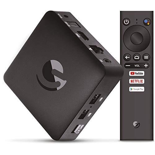 Engel TV Box EN1015K Android TV 4K UHD