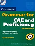 Cambridge Grammar for CAE and Proficiency with Answers and Audio CDs (2) (Cambridge Books for Cambridge Exams)