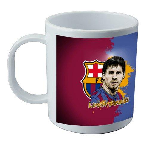 Taza y pegatina de Messi
