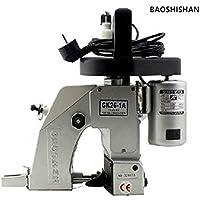 Portátil eléctrica máquina de coser automático lubricación Tejido bolsa de embalaje máquina para tejido bolsa aspecto