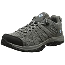 Columbia Women's Canyon Point Hiking Shoes, Grey (Stratus, Oxygen), 9 UK 42 EU